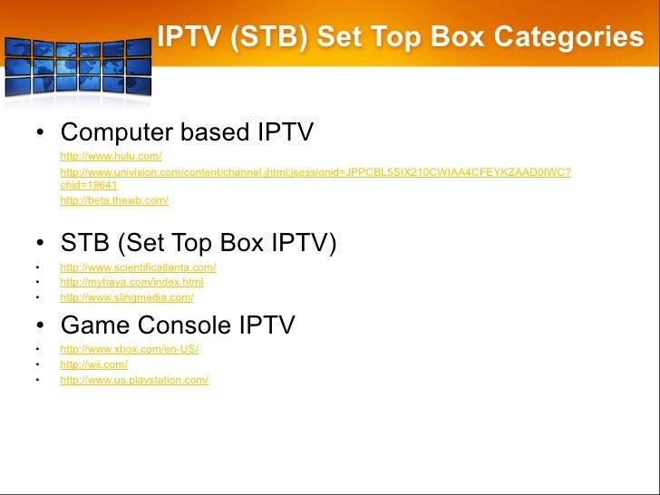 The Future of IPTV