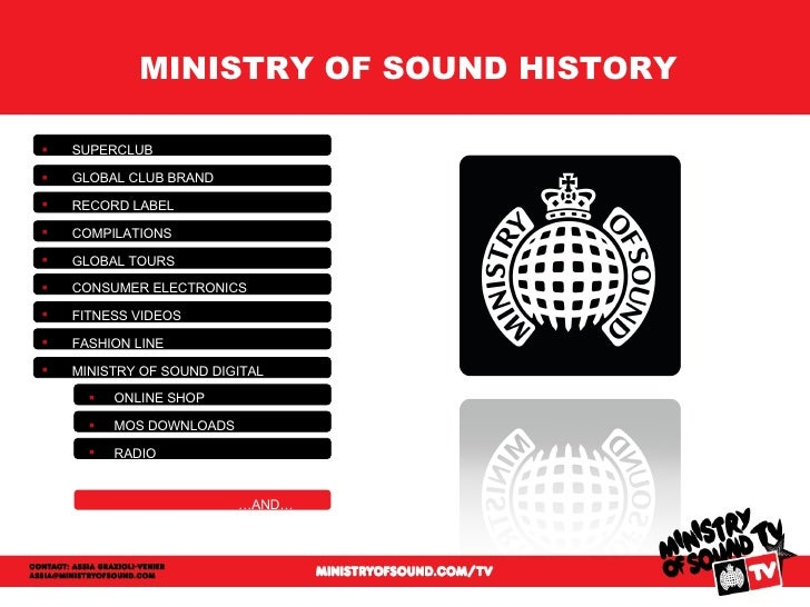 Ministry of Sound is the home of dance music. Buy London club and worldwide tour event tickets, read our latest news, book fitness classes and more.