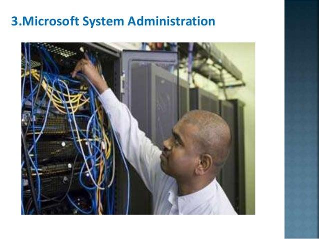 3.Microsoft System Administration