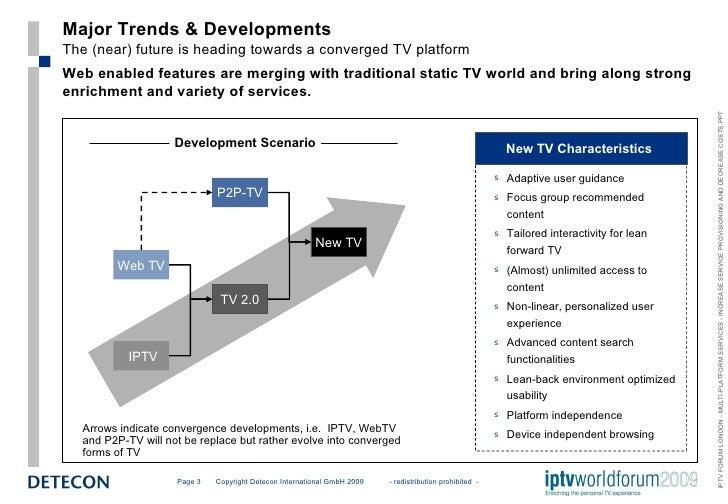 IPTV Forum London - New Trends and Platform Strategies for New TV Slide 3