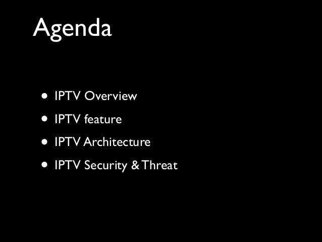 IPTV Security Slide 2
