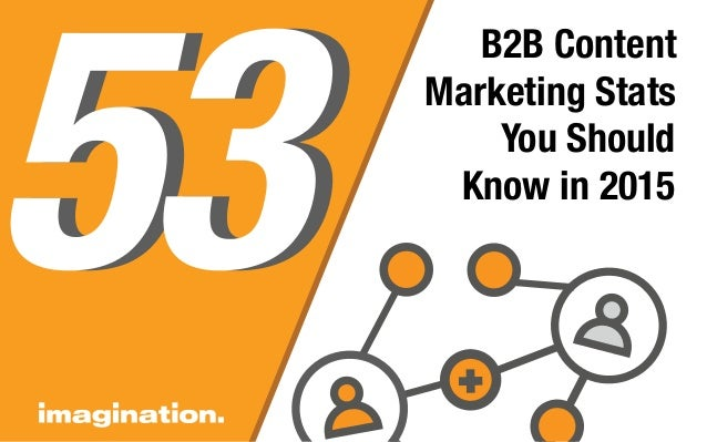 B2B Content Marketing Stats You Should Know in 2015