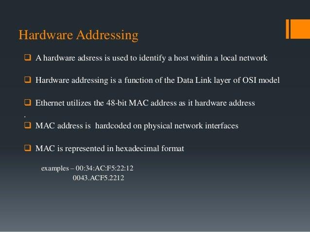 Self assigned ip address ethernet
