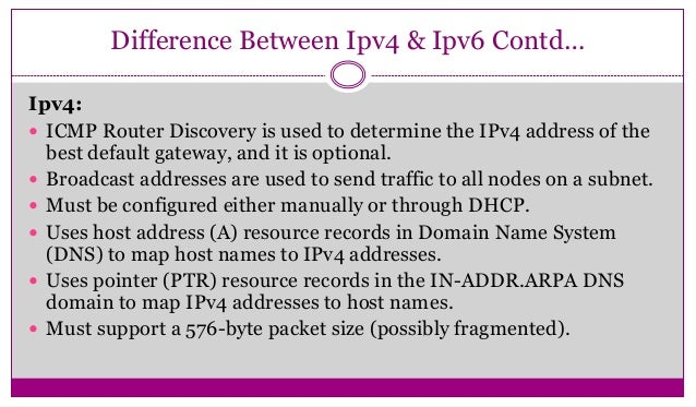 relationship between mobile ip discovery and icmp ping