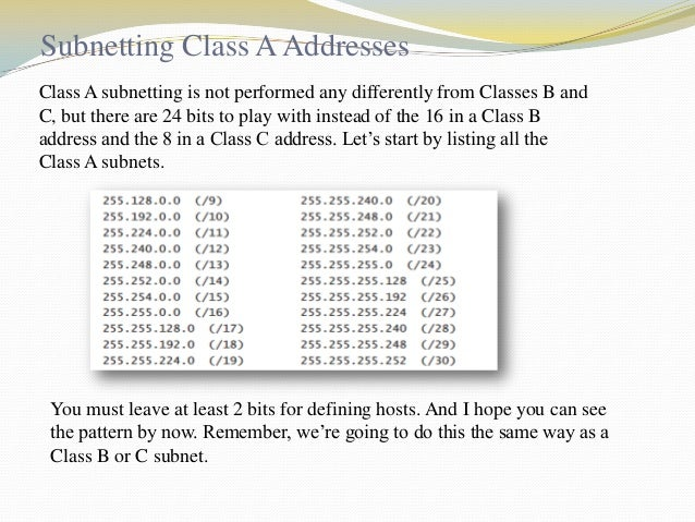 Cont…  We can see that the restrictions are applied to this block. The addresses are contiguous. The number 2 of addresses...