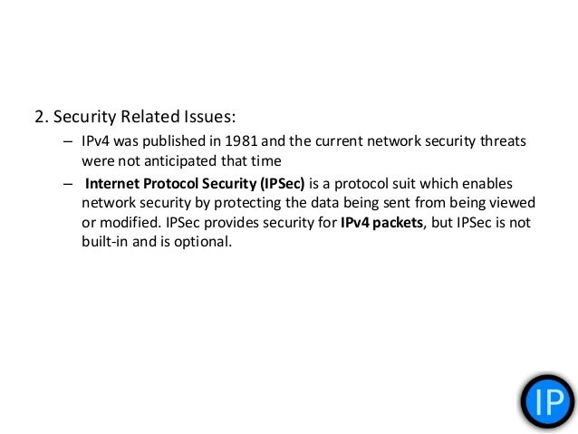 3. Quality of Service QoS: – IPv4 and it relies on the 8 bits of the IPv4 Type of Service (TOS) field and the identificati...
