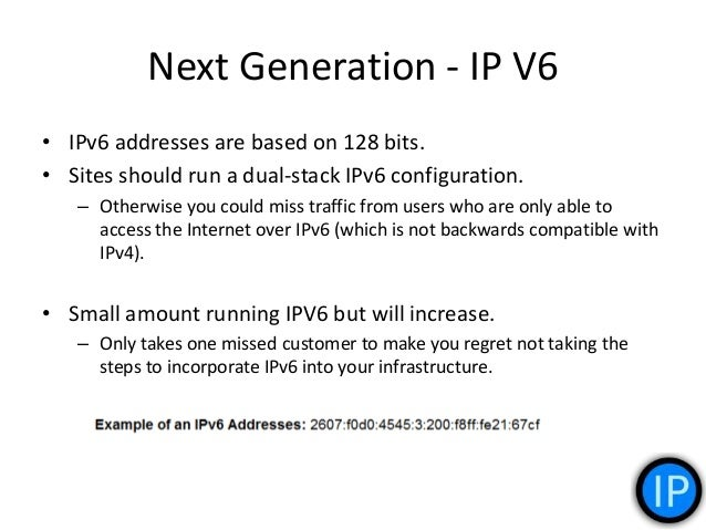Benefits 1. IPv6 reduces the size of routing tables and makes routing more efficient and hierarchical. – Allows ISPs to ag...