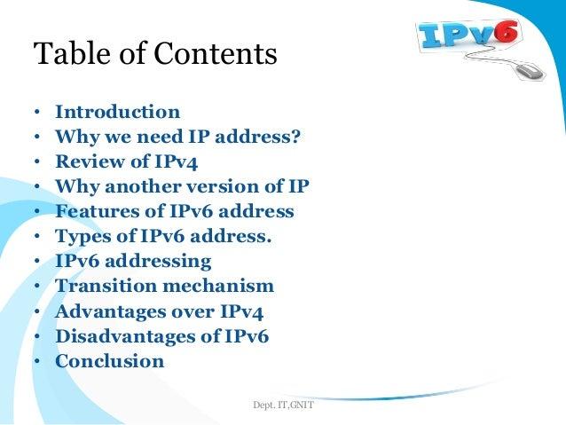 advantages of ipv6 over ipv4
