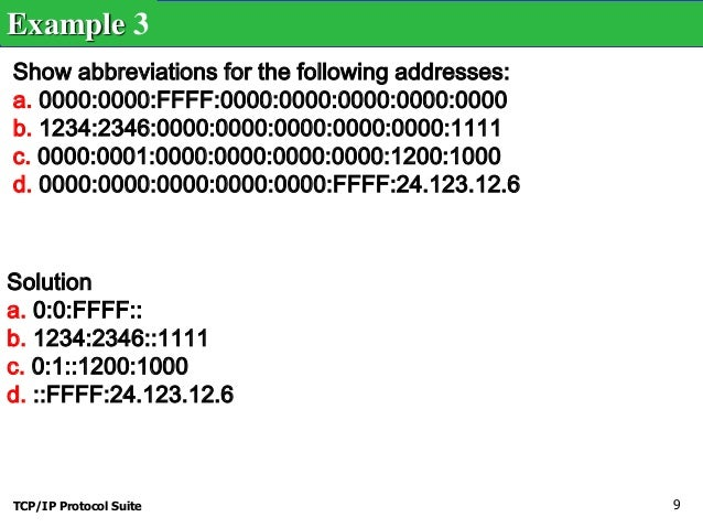 which of the following is the ipv6 loopback address?