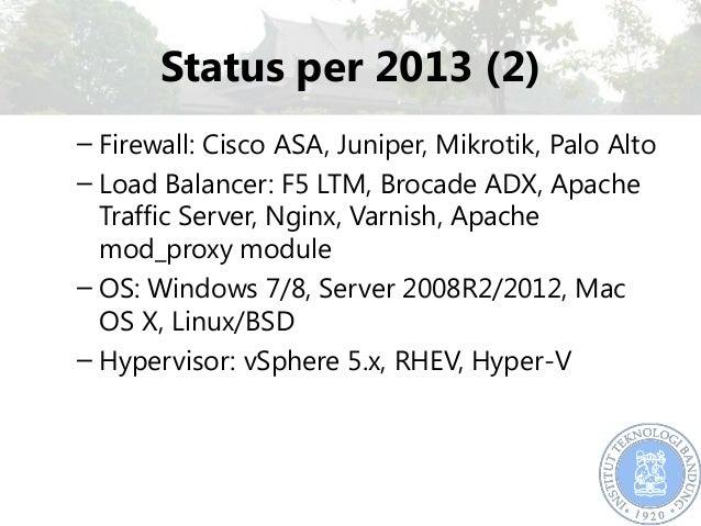 IPv6 Development in ITB 2013