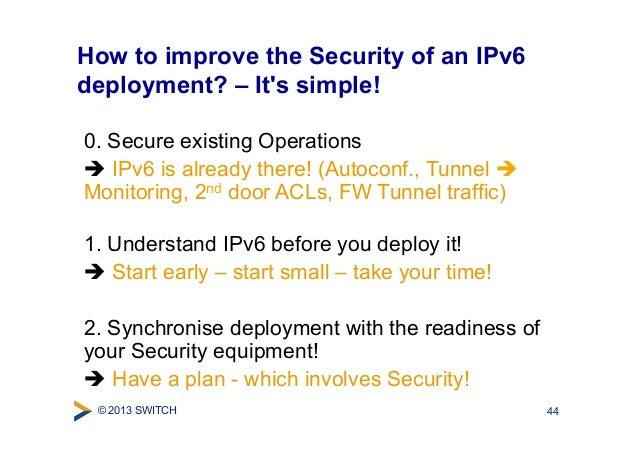 Ipv6 Security Und Hacking