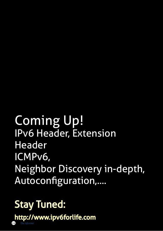 an in depth look at the advantages of ipv6 over ipv4 An in-depth look at the latest trends and technologies in enterprise networking  an obvious feature to look for is dual-stack support where all ipv4 and ipv6 features can run simultaneously .