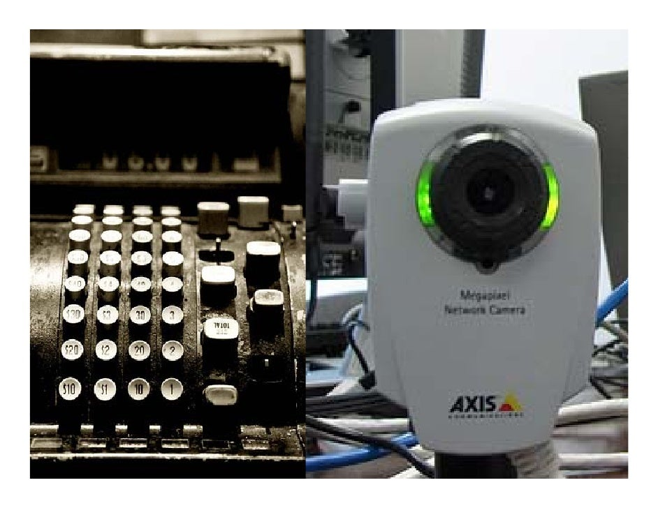 Ashift iscurrently taking place inthevideosurveillance industry…