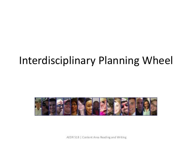 Interdisciplinary Planning Wheel         AEDR 518 | Content Area Reading and Writing