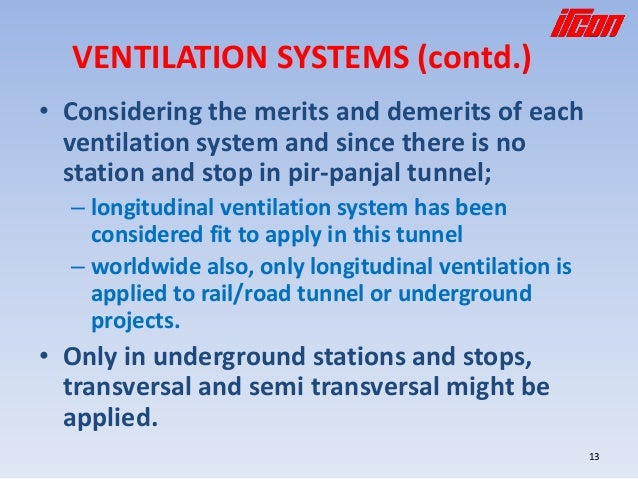 Tunnel Ventilation And Safety Papar Presented At Ipwe