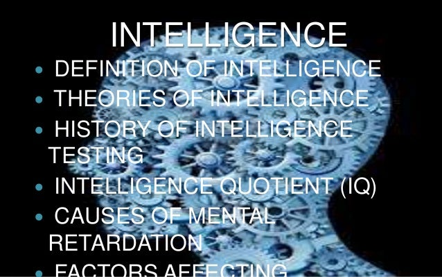 an introduction to the testing of iq intelligence quotient If your child has ever taken an iq test learn what iq scores mean and how they're categorized an iq score is an intelligence quotient this is a measure of intelligence, primarily of a person's reasoning ability.