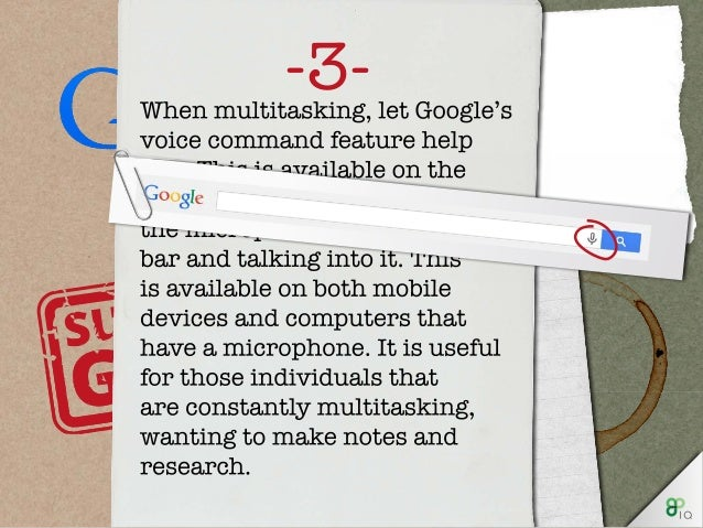 There are also lots of 'fun' things that Google can do, when you find yourself with a spare minute. Such as...