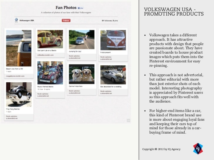 VOLKSWAGEN USA -     PROMOTING PRODUCTS1     • Volkswagen takes a different         approach. It has attractive         pr...