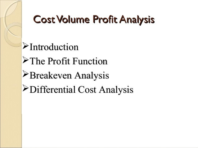 cvp analysis note You are our newest elite note taker and we can't wait to see the rest of your notes commerce 2ab3 lecture 3: cvp analysis cvp analysis, income statement.