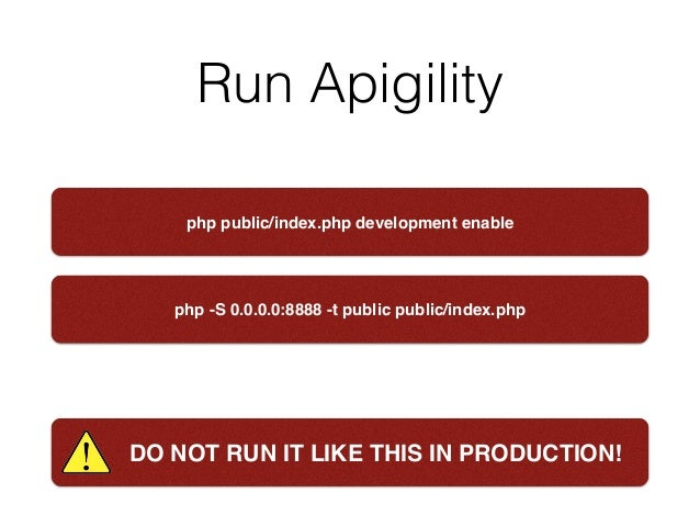 Easily extend your existing php app with an api
