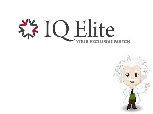 IQ eliitti dating site