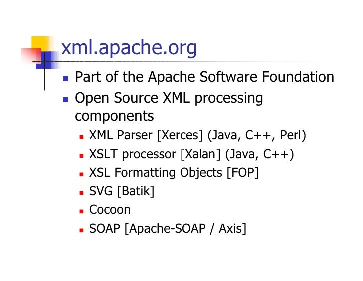 IQPC Canada XML 2001: How to develop Syntax and XML Schema
