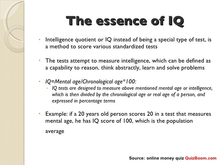 the reasons why iq tests dont test intelligence