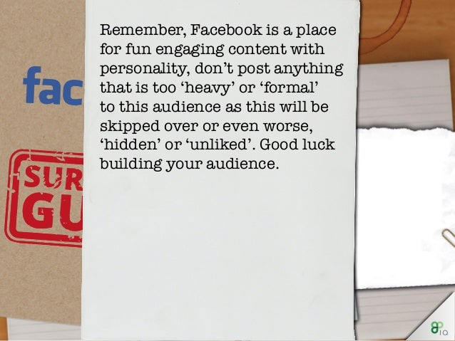 IQ Survival Guide - Facebook for Business