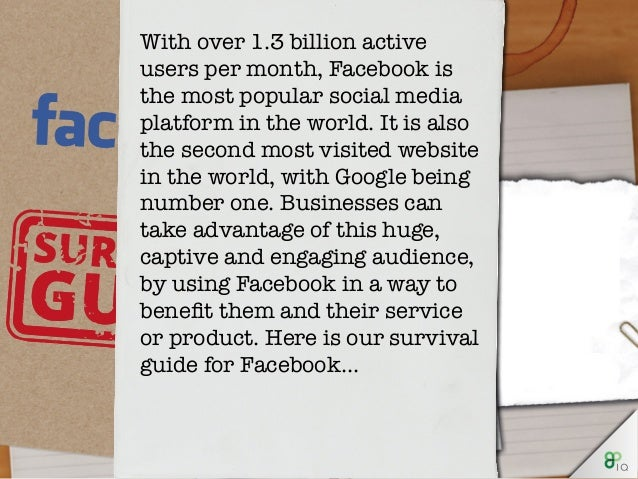 With over 1.3 billion active users per month, Facebook is the most popular social media platform in the world. It is also ...