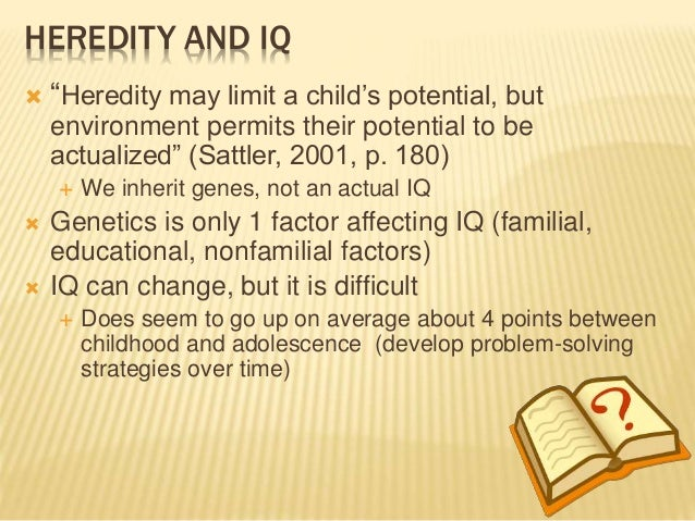 how to develop iq of a child