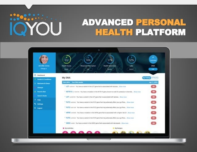 ADVANCED PERSONAL HEALTH PLATFORM