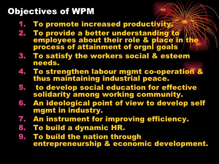 objectives of wpm Annual goals, short-term instructional objectives and/or benchmarks requirements individual need determinations (ie, present levels of performance and individual.