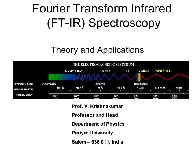 transform infrared spectroscopy essay