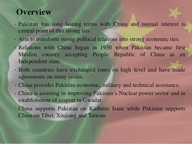 Pak China Relation Essay Writing - image 2