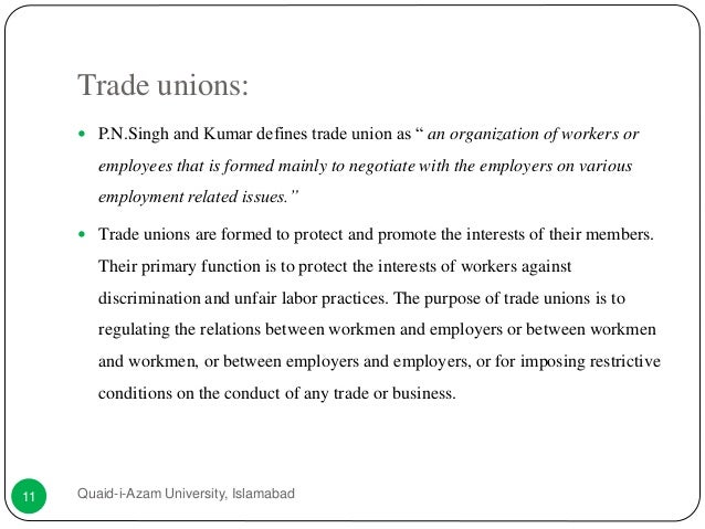 Case Study on Industrial Relations