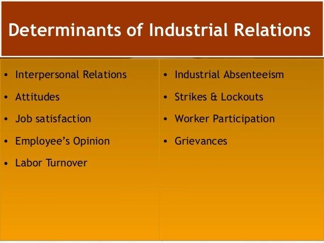 Industrial Relation  Slide 2