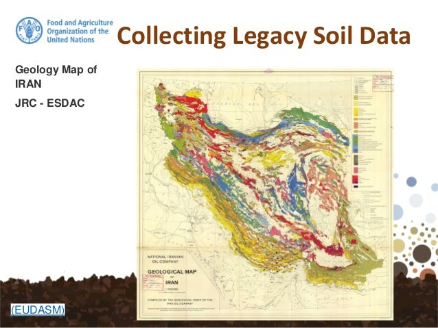 collecting legacy soil data soil map of iran jrc esdac eudasm 18