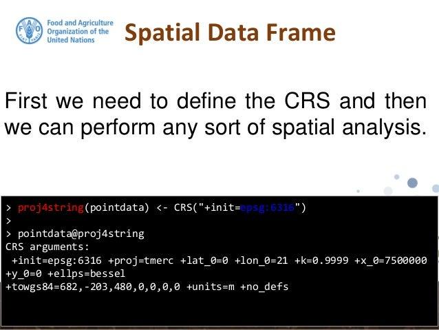 R getting spatial