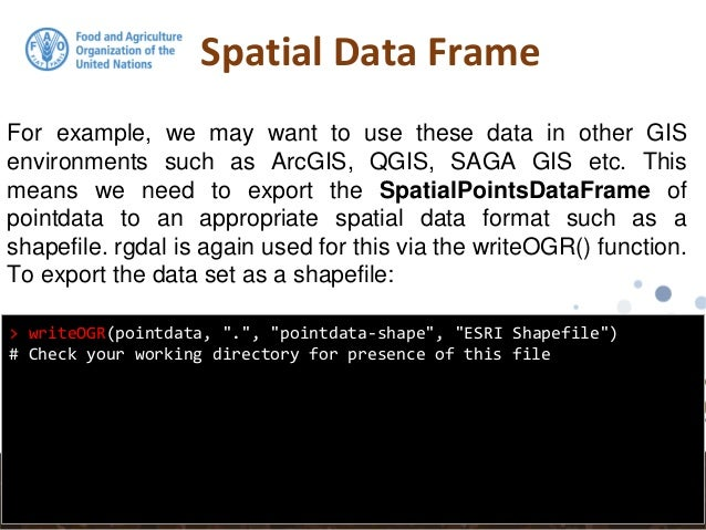 R getting spatial