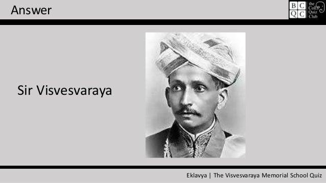 sir visvesvaraya