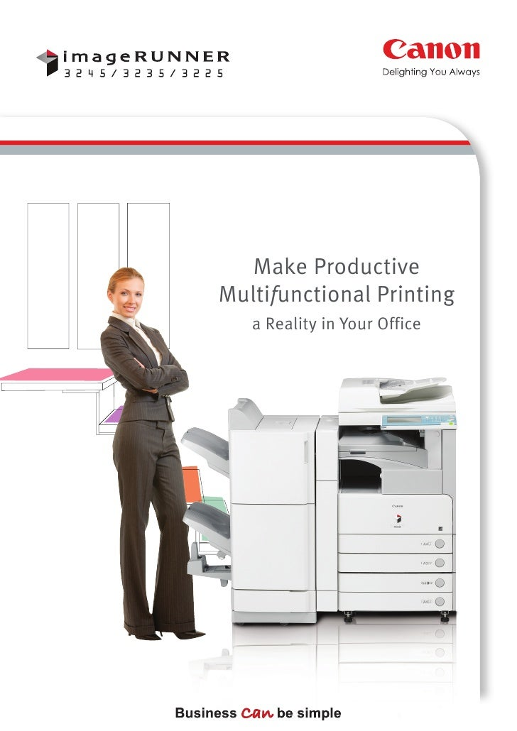 Make ProductiveMultifunctional Printing   a Reality in Your Office