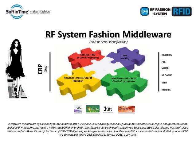 Software e Servizi per l'AbbigliamentoEtichette RFID da Lotti di ProduzioneWEBTrackingRilevazione Ingressi Capi da Produtt...