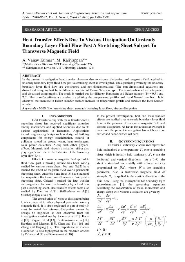 A. Vanav Kumar et al Int. Journal of Engineering Research and Application ISSN : 2248-9622, Vol. 3, Issue 5, Sep-Oct 2013,...