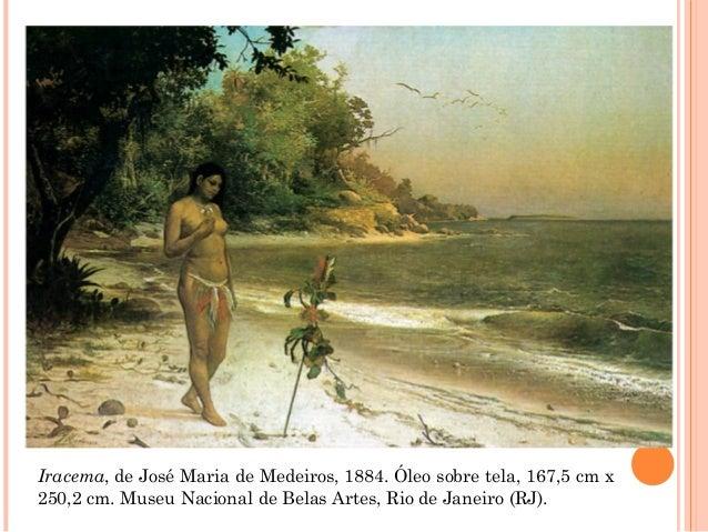 Iracema, de José Maria de Medeiros, 1884. Óleo sobre tela, 167,5 cm x 250,2 cm. Museu Nacional de Belas Artes, Rio de Jane...