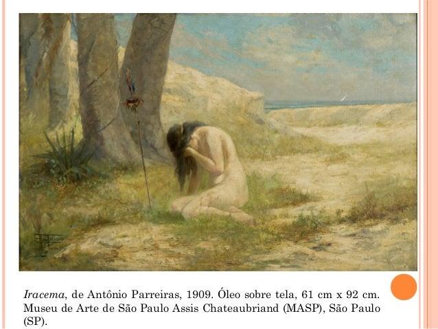 Iracema, de Antônio Parreiras, 1909. Óleo sobre tela, 61 cm x 92 cm. Museu de Arte de São Paulo Assis Chateaubriand (MASP)...