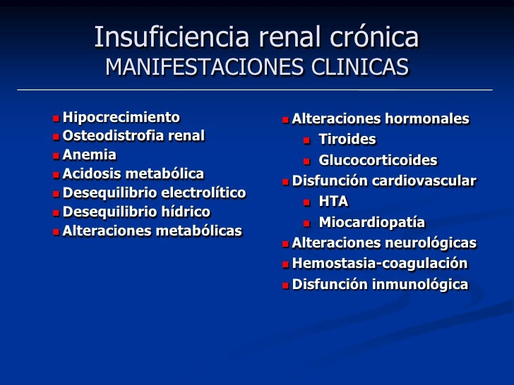 Insuficiencia Renal<br />Puntos generales<br />Tratar primero shock, insuficiencia respiratoria, hiperkalemia<br />Es esta...