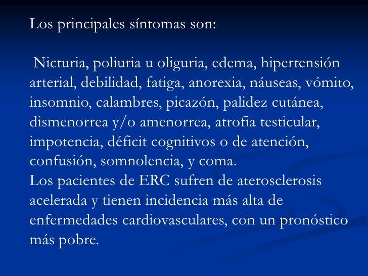 IRC TERMINAL<br />FG &lt; del 5% de lo normal para la edad. <br />5 ml/ min/ 1.73 m2 de S.C es enfermedad renal en estadio...