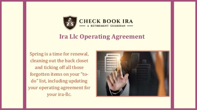 Ira Llc Real Estate Checkbook Ira Llc