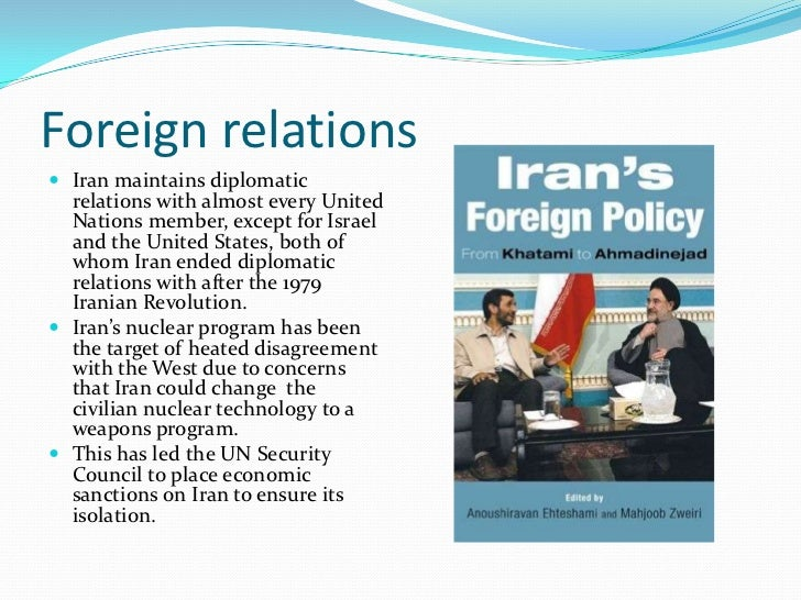 Iran and us relations