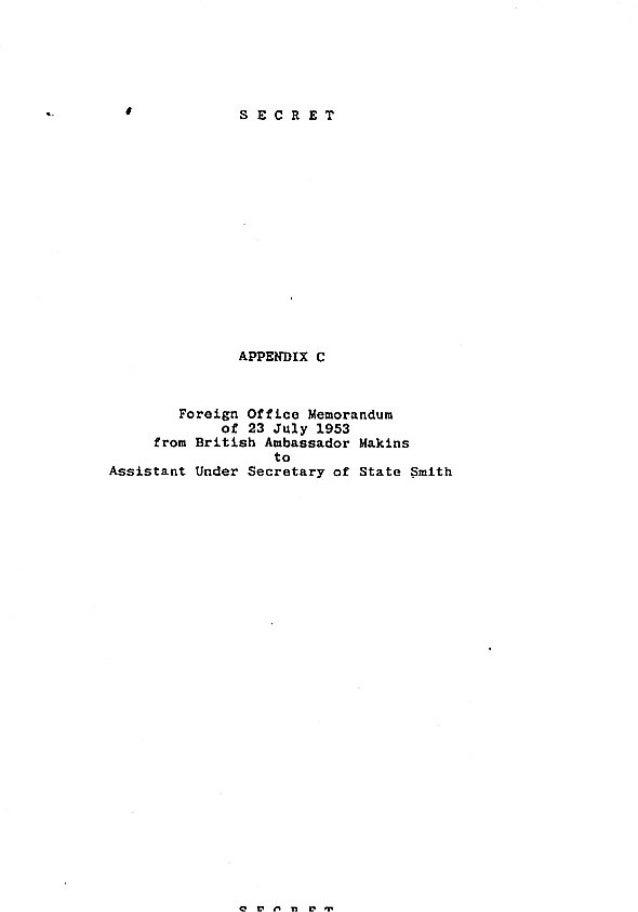 Operation Ajax Declassified PDF Appendix C